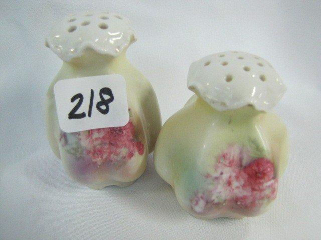 218: RSP salt & pepper set, floral