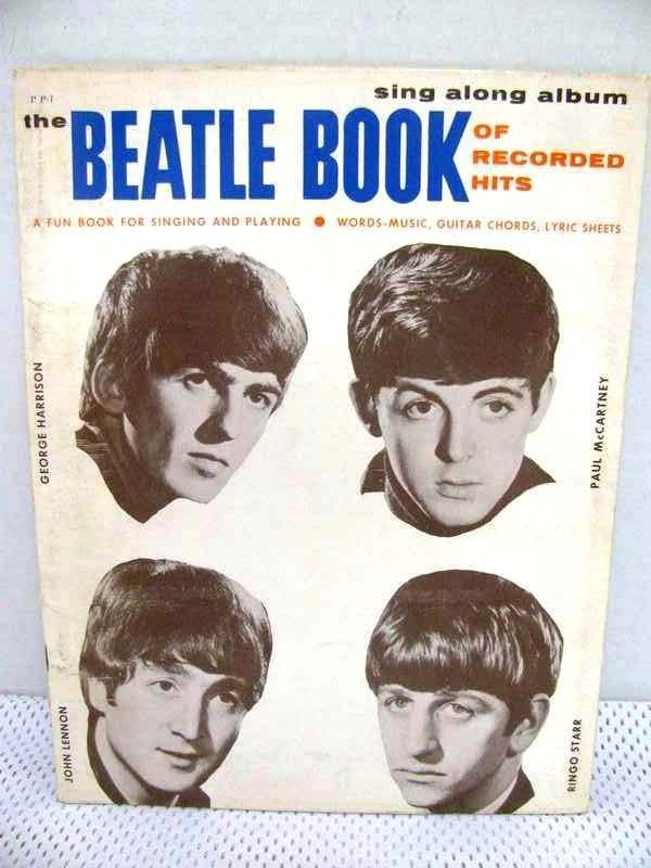 3: Vintage 1963 The Beatle Book ~ Sing Along Album of R