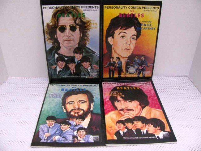 6: Beatles Limited Edition of 500 Boxed Set ~ Issues 1-