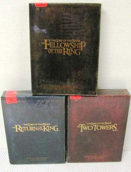 15: Lord of the Rings Trilogy ~ 3 Sets ~ Special Extend
