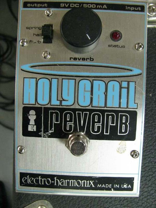 25: Holy Grail Reverb Switch ~ Electro-Harmonix