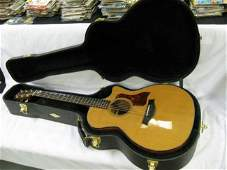 40: Taylor Acoustic Guitar w/Case