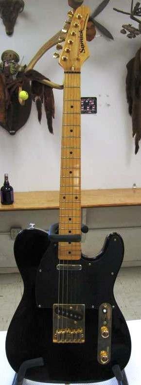 163: Samick Artist Series Guitar ~ Telecaster Style ~ S