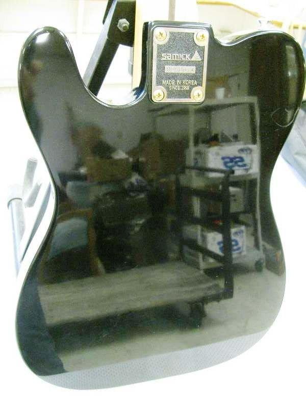 163: Samick Artist Series Guitar ~ Telecaster Style ~ S - 7