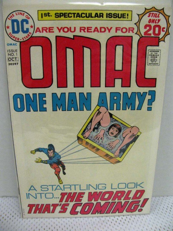 3: DC OMAC One Many Army? ~ Issue #1 ~ Artwork by Jack