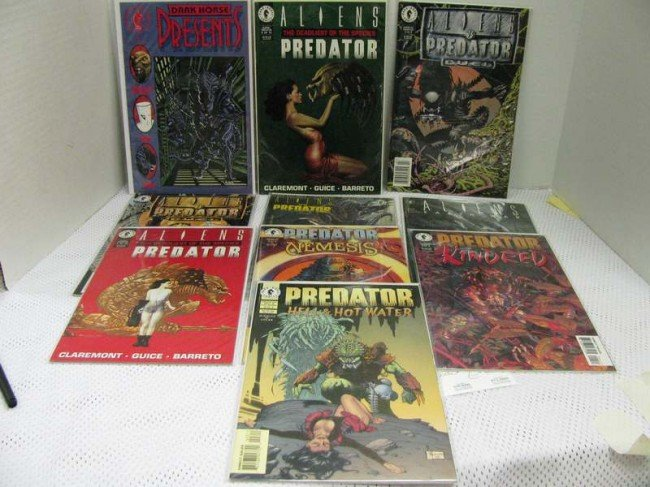 7: 10 Issues ~ Assorted Various Aliens / Predator Comic