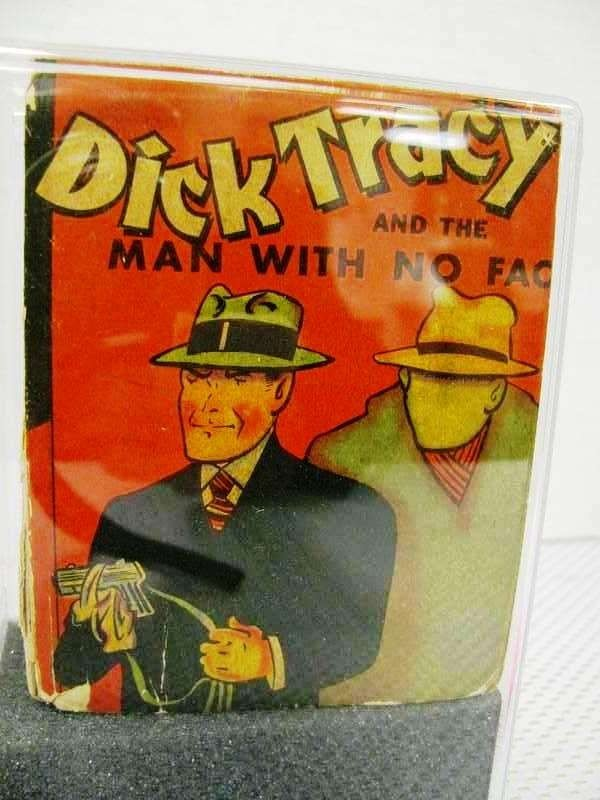 15: 1938 Dick Tracy & The Man With No Face ~ Big Little