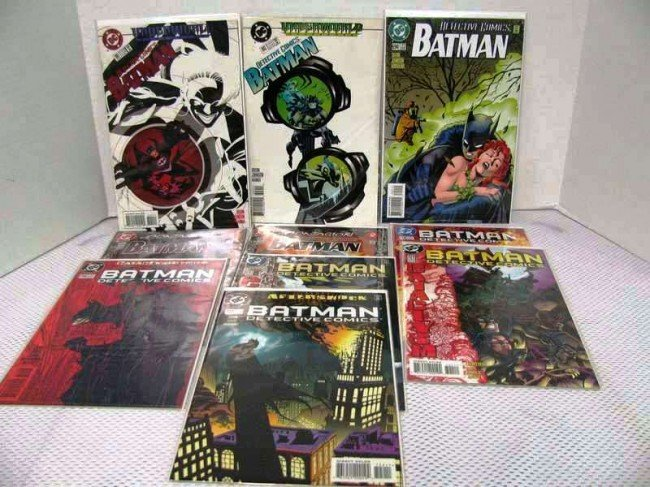 19: 10 Issues ~ Detective Comics ~ #'s 691,692, 694, 69