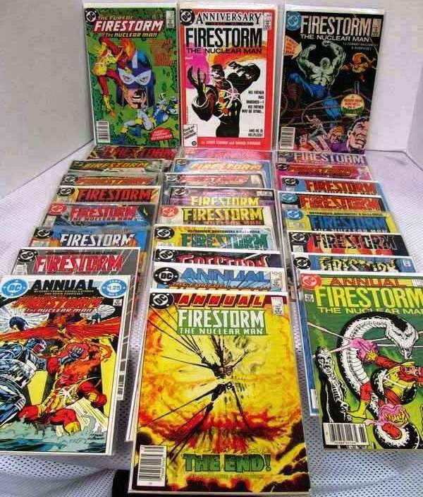 24: 28 Issues ~ Firestorm the Nuclear Man ~ #'s 47, 50,