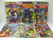 288: 6 Issues ~ Machine Man Comics by Marvel ~ (Jack Ki