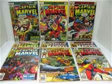 324 9 Issues Captain Marvel Comics  s 54 55 57 2