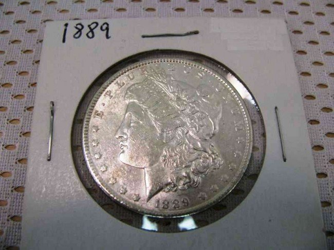 117: 1889 Morgan Silver Dollar