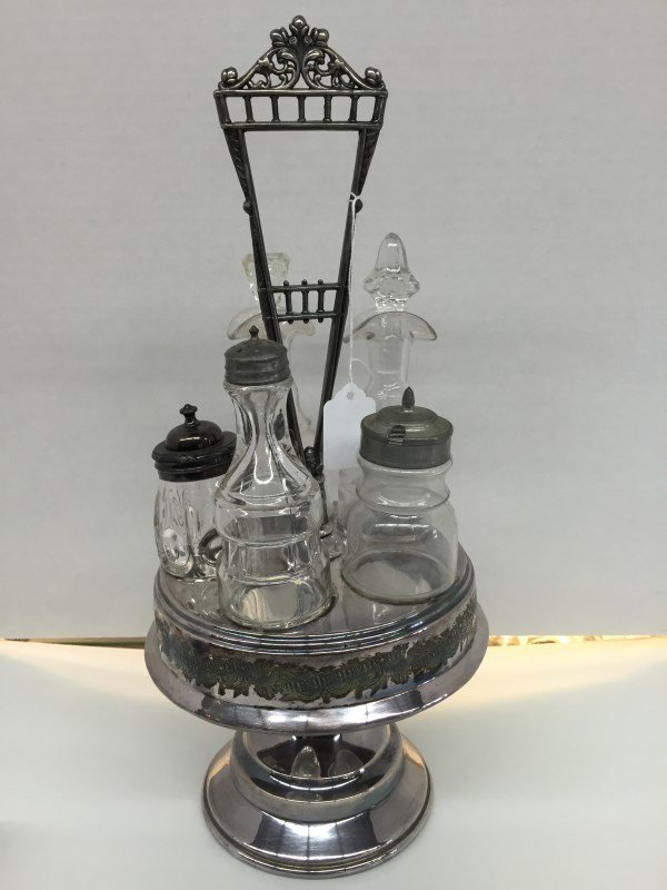 Antique Table Condiment Set