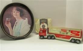 Coke Lot ~ Vintage 1973 Metal Coke Tray ~ Buddy L Toy
