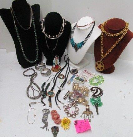 Estate Costume Jewelry Lot