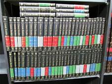 """Full Set ~ Leather Bound """"Great Books"""" ~ 60 Books"""