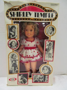 Vintage 1973 (119) Now Appearing Shirley Temple Doll In