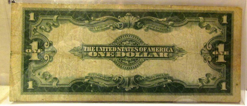 On Dollar $1 Series of 1923 Silver Certificate ~ George - 2