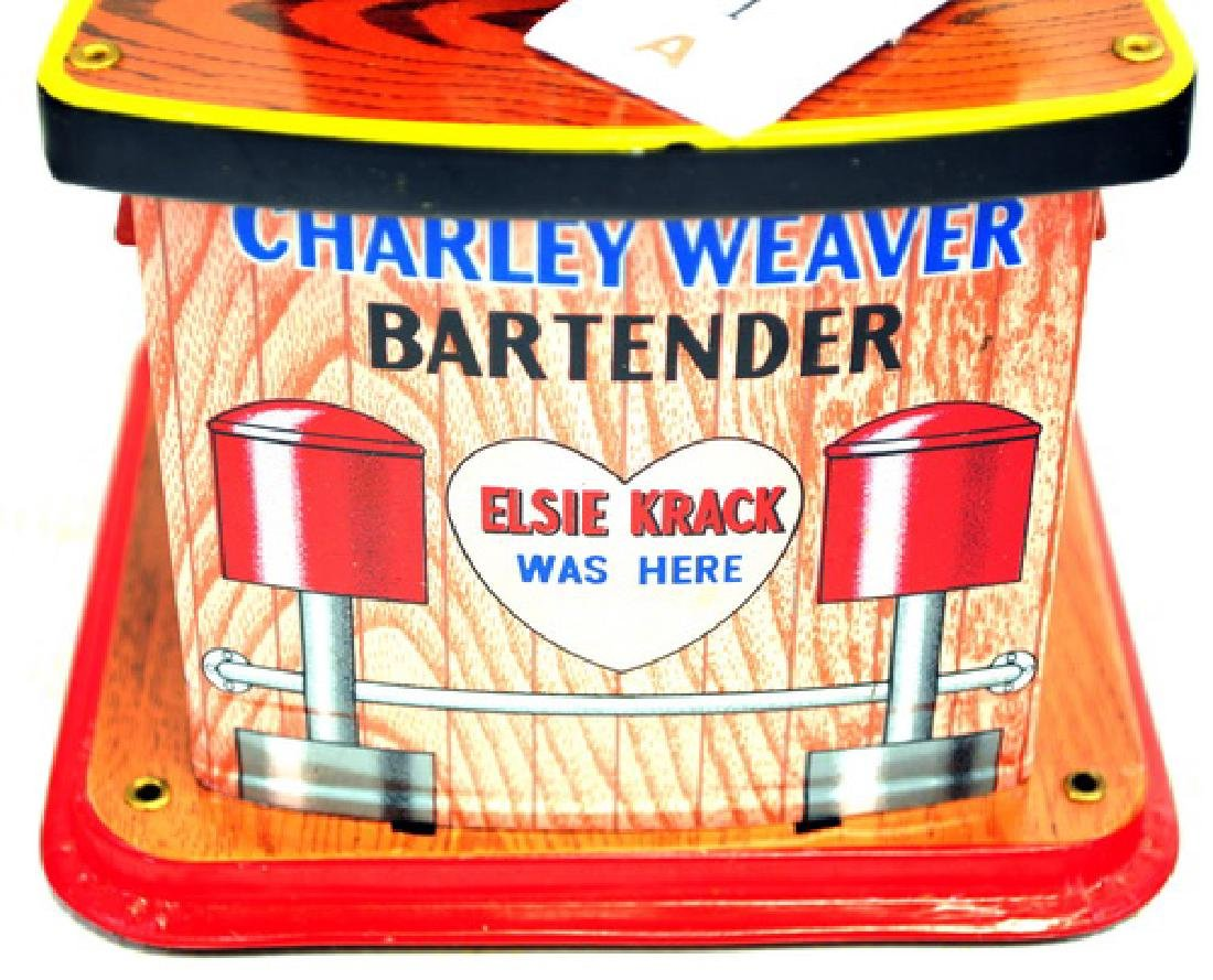 Original Charlie Weaver Bartender In Original Box