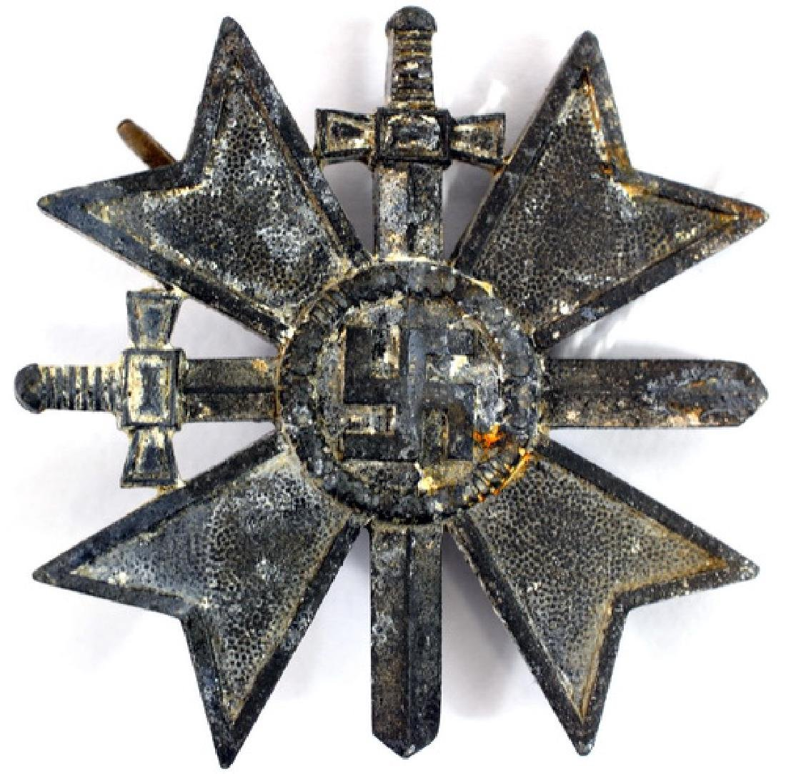 Original WWII German War Merit Cross With Swords