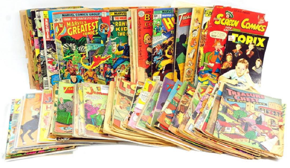 Over 60 Estate Comic Books