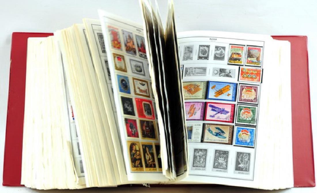 Two Citation Estate Stamp Albums - 2
