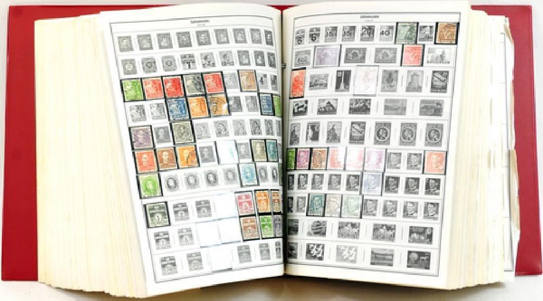 Two Citation Estate Stamp Albums - 3