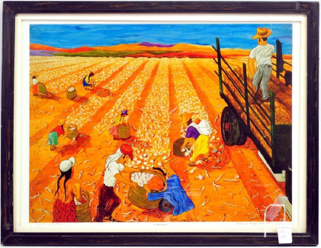 6 Frank Diaz Escalet Hand signed Framed Prints - 4