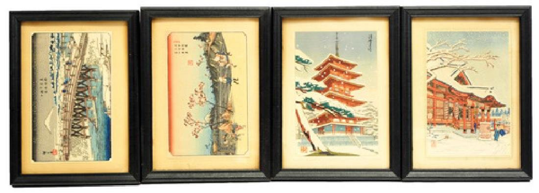 8 Mini Japanese Woodblock Prints - 2