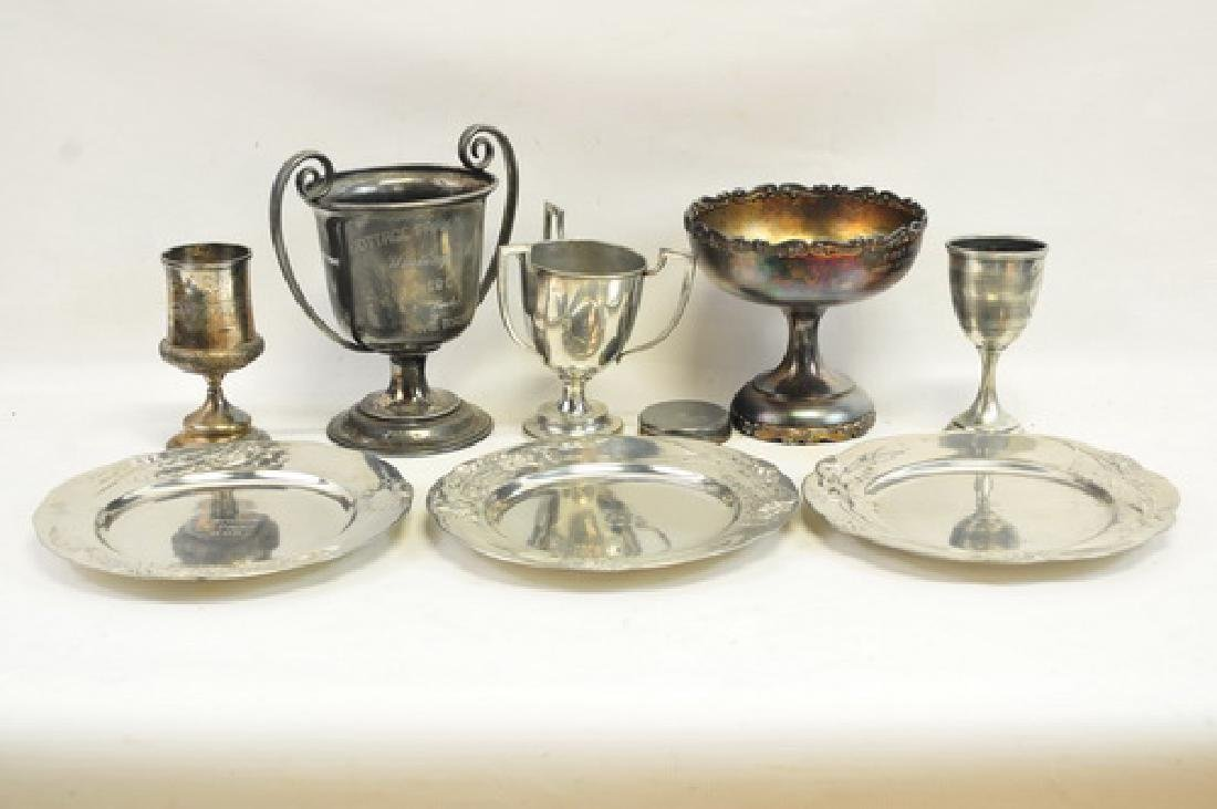 20 Late 19th Century Athletic Trophies