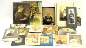 Estate Photos/Tin Types/Cabinet Cards