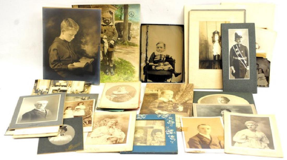 Estate Photos/Tin Types/Cabinet Cards