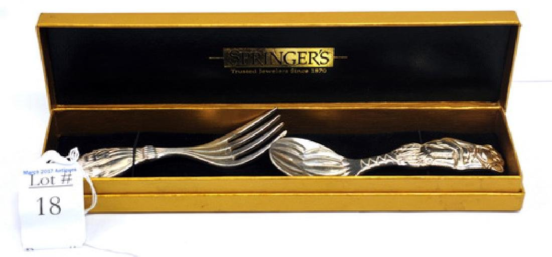 Reed & Barton Childs Fork & Spoon Set