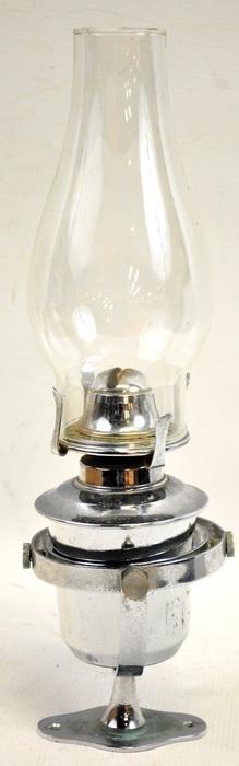 Ships Oil Cabin Gimbel Lamp English Made