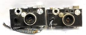 Two 1940's Argus Cameras
