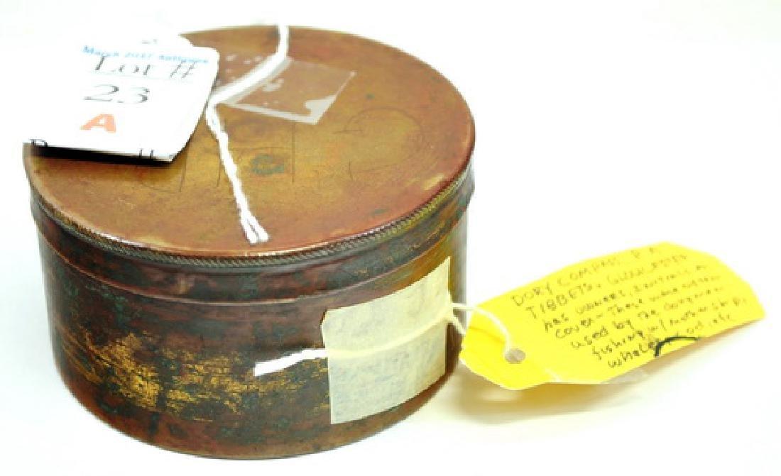19th Century Dory Compass RA Tibbetts Gloucester - 2