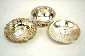 3- Sterling Bowls Towle Whiting  8.8 OZT
