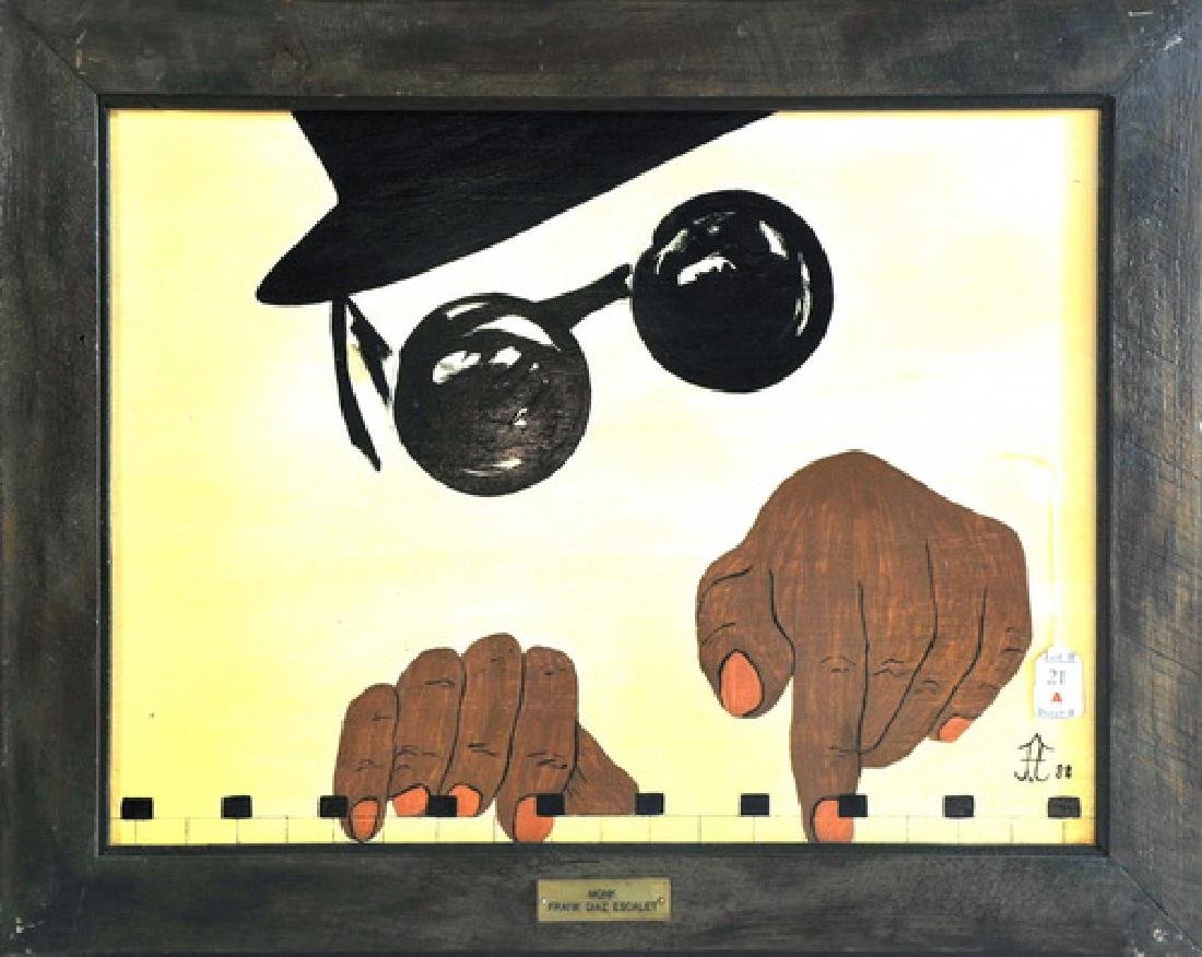 Acrylic On Board By Frank Diaz Escalet  World Tour