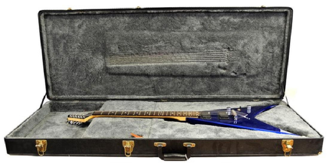 Jackson Flying V Guitar W/Hard Case - 2