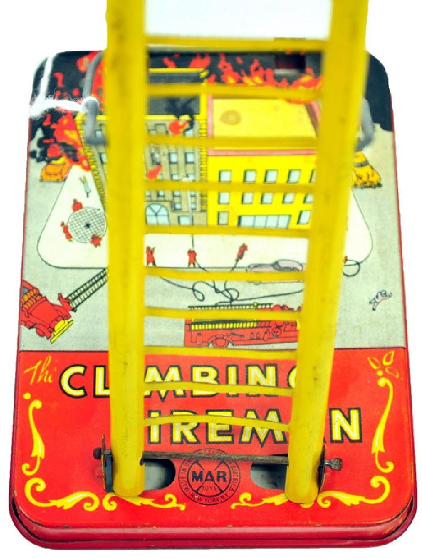 Marx Climbing Fireman Toy in Working Condition - 3