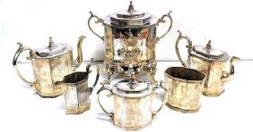 Antique Reed & Barton Tea Coffee Serving 7pc set