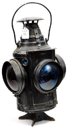 Dressel Oil Lamp Railroad Switch Lantern