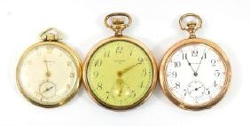 7 Antique Pocket Watches