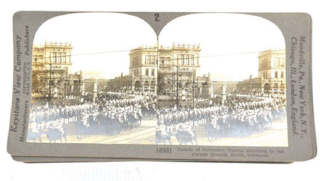 30 WWI Stereo View Cards War Scenes
