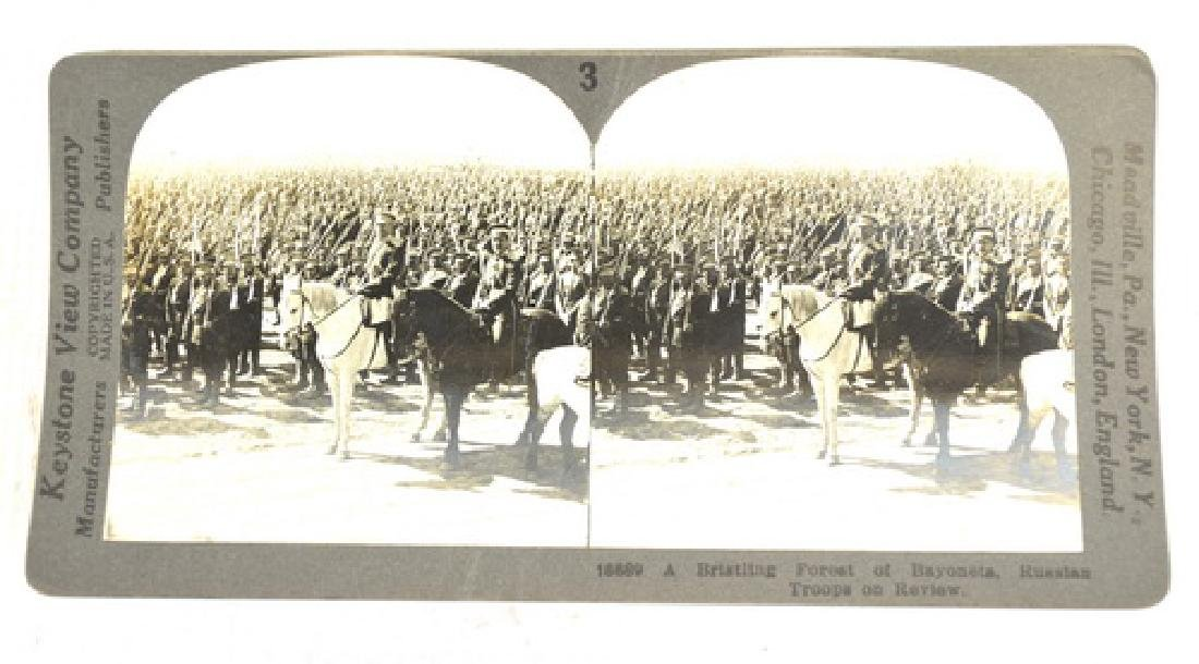 30 WWI Stereo View Cards War Scenes - 3