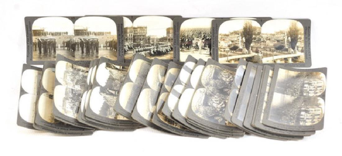 30 WWI Stereo View Cards War Scenes - 4