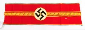 Rare WWII Nazi German Party High Leader Armband