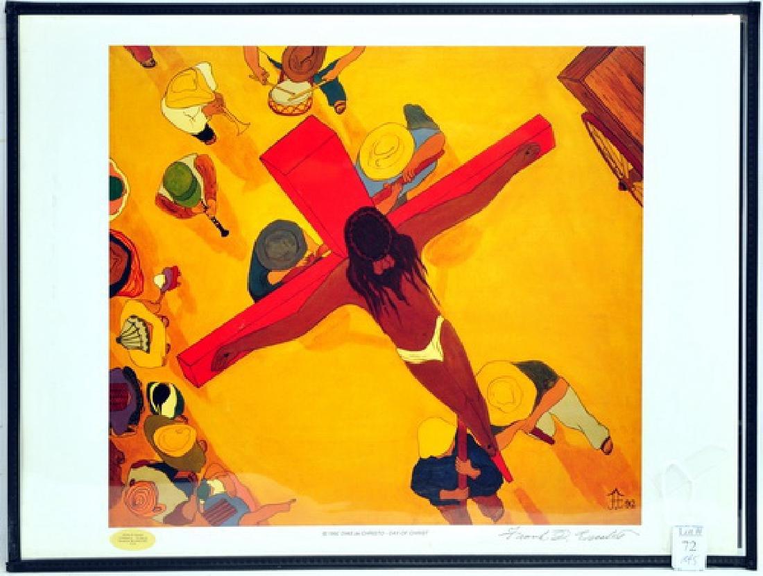 5 Frank Diaz Escalet Hand signed Framed Prints