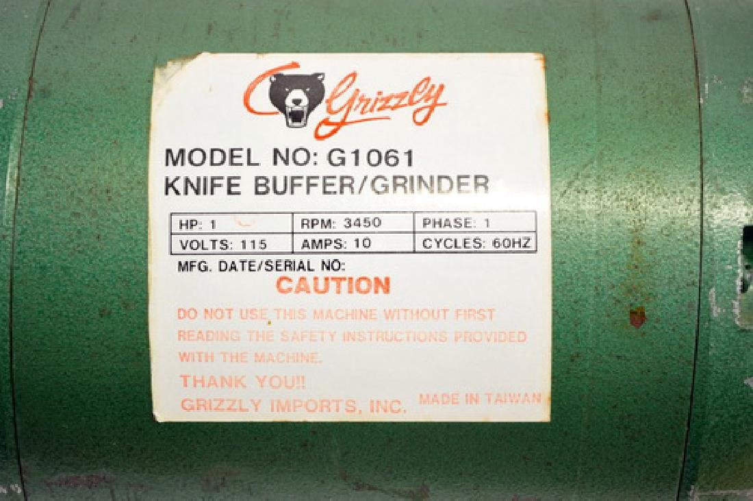 Grizzly Buffing System G1061 1 HP - 2