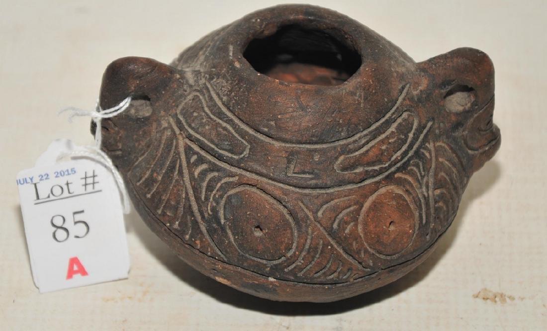 Taino clay pottery